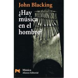 Blacking, John. ¿Hay Música en el Hombre?