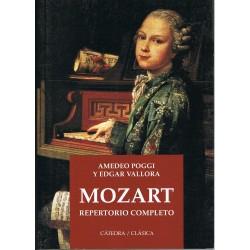 Poggi/Vallora. Mozart. Repertorio Completo