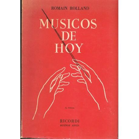 Rolland, Romain. Músicos de Hoy. Ricordi