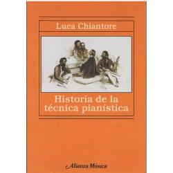 Chiantore, Luca. Historia de la Técnica Pianística