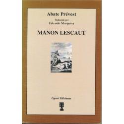 Abate Prévost. Manon Lescaut (Novela). Trad. Eduardo Marquina