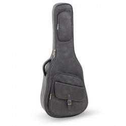 ACOUSTIC GUITAR BAG LEATHERETTE - 25MM