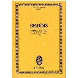 Brahms. Sinfonía nº3 Fa Mayor Op.90 (Partitura de Bolsillo)