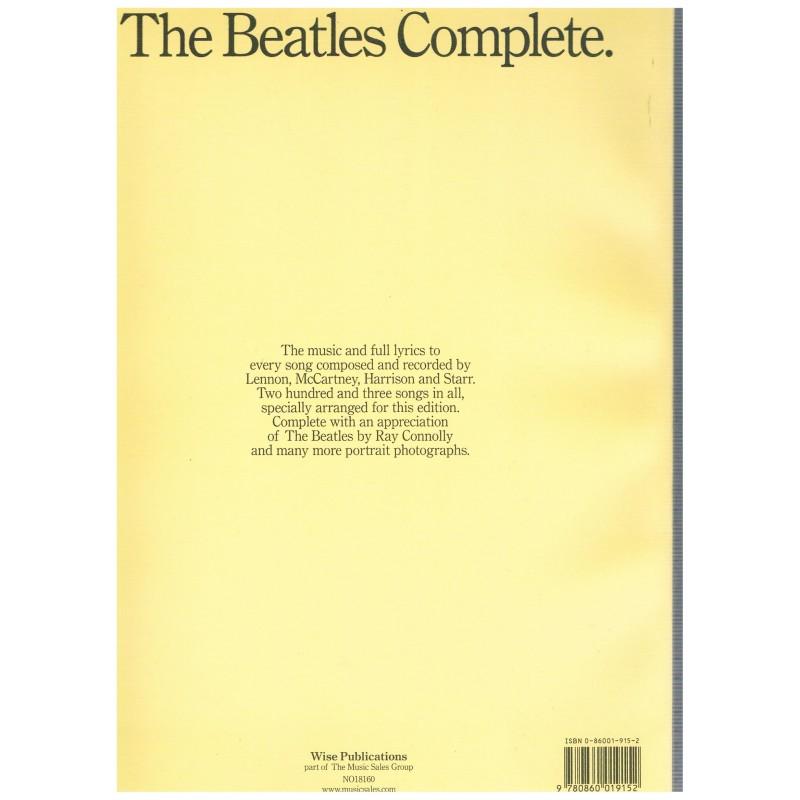 The beatles complete score libro pdf