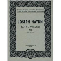 Haydn, Joseph. London Symphonies Nos. 99-104 (Partitura de Bolsillo)