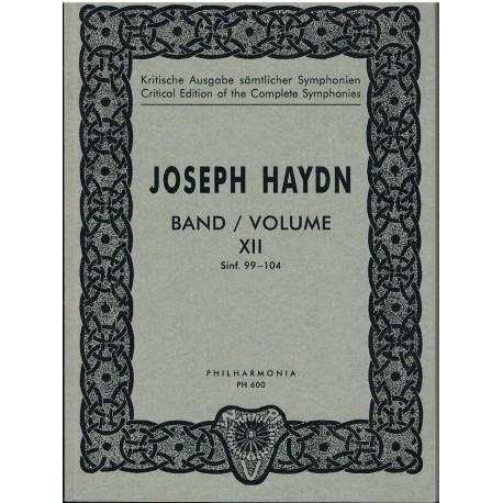 Haydn, Joseph. Symphonies Nos. 99-104 Full Score Bolsillo). Philarmonia