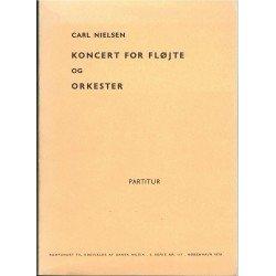 Nielsen, Carl. Concierto Para Flauta y Orquesta (Partitura de Bolsillo)