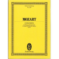 Mozart. Concierto K.451 en Re Mayor para Piano y Orquesta (Partitura de Bolsillo)