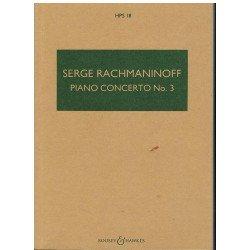 Rachmaninoff. Concierto Para Piano nº3. Partitura de Bolsillo