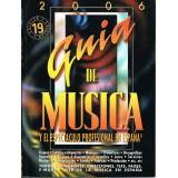 Varios. Guía de Música y el Espectáculo Profesional en España 2006
