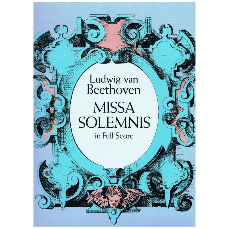 Beethoven. Missa Solemnis (Full Score)