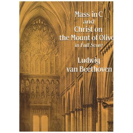 Beethoven. Misa en Do Mayor / Cristo en el Monte De Los Olivos (Full Score)