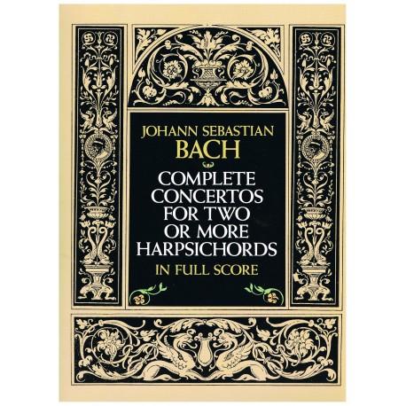 Bach, J.S. Conciertos Completos Para Dos o Más Pianos (Full Score)