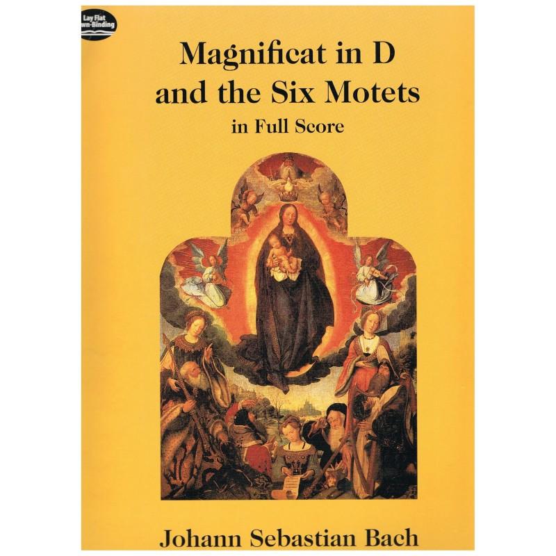 Bach, J.S. Magnificat en Re Mayor y Los Seis Motetes (Full Score)