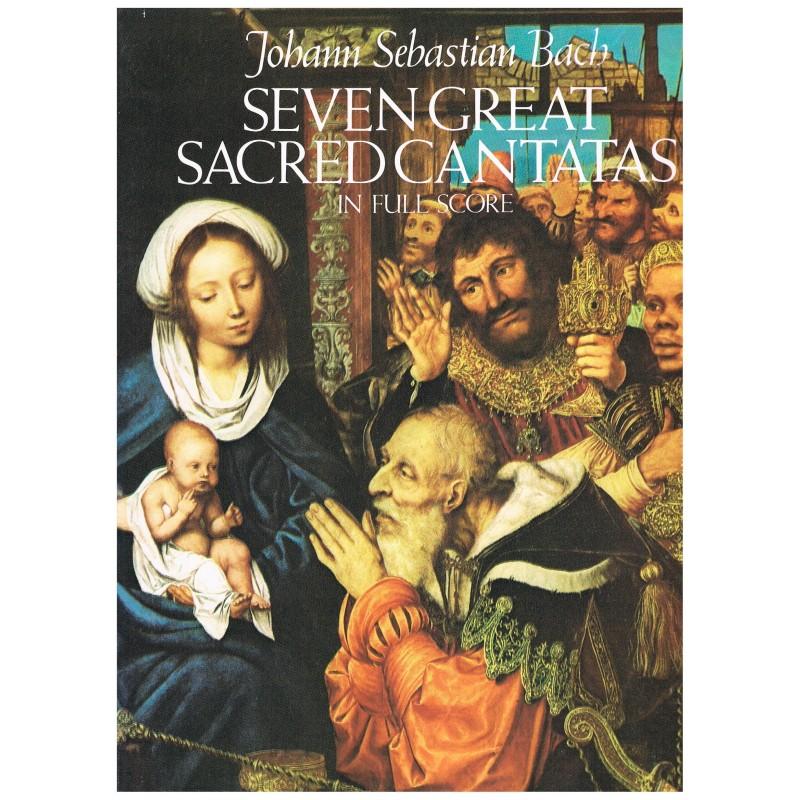 Bach, J.S. Siete Grandes Cantatas Sagradas (Full Score)