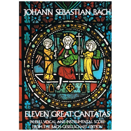Bach, J.S. Once Grandes Cantatas (Full Score)