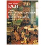 Bach, J.S. Los 6 Conciertos de Brandenburgo y Las 4 Suites Orquestales (Full Score)