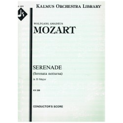 Mozart. Serenata Nocturna en Re Mayor  KV239 (Full Score + Partes)