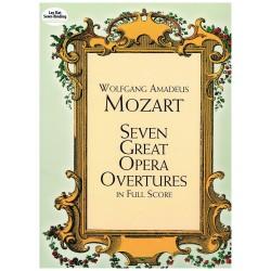 Mozart. Siete Grandes Oberturas de Operas (Full Score)