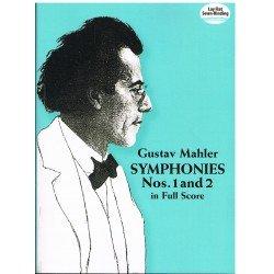 Mahler, Gustav. Sinfonías Nº1 y 2 (Full Score)