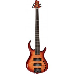 m7 alder 5 fretless 2nd gen brs brown sunburst