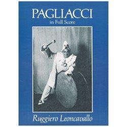 Leoncavallo, Ruggiero. Pagliacci (Full Score)