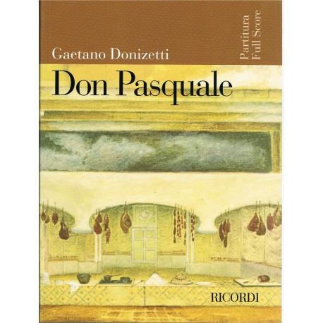 Donizetti, Gaetano. Don Pasquale (Full Score)