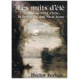 Berlioz, Hector. Las Noches de Verano (Full Score)