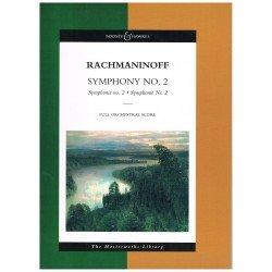 Rachmaninoff, Sergei. Sinfonía Nº2 Op.27 (Full Score)