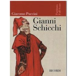 Puccini, Giacomo. Gianni Schicchi (Full Score)