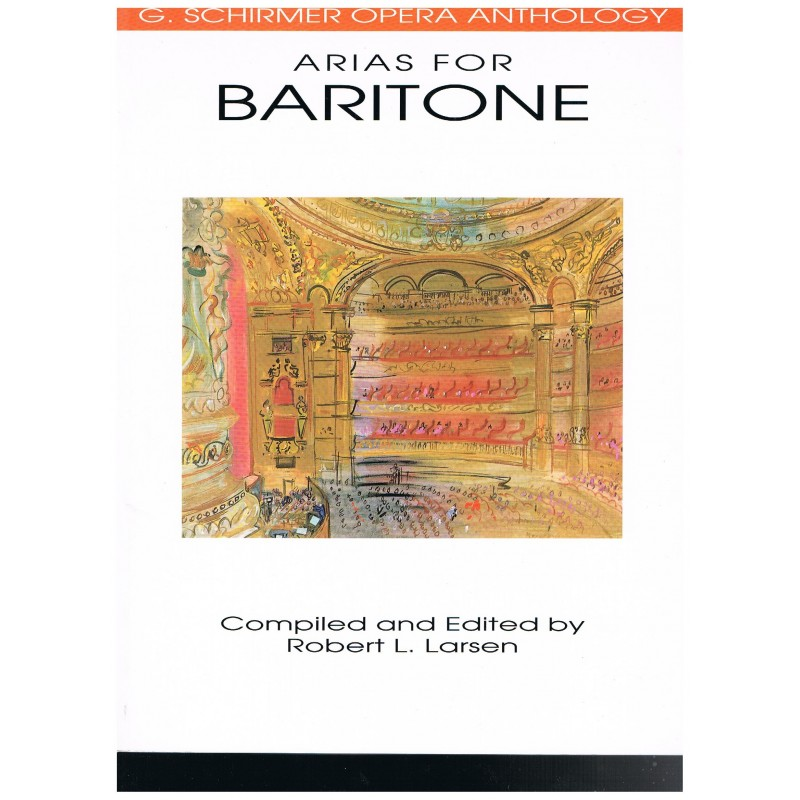 Varios. Arias Para Barítono (Voz/Piano)