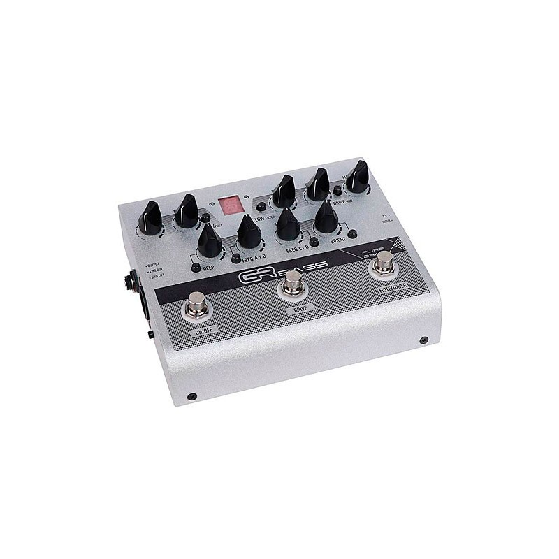 gr bass pure drive pedal preamp