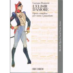 Donizetti, Gaetano. L'Elisir d'Amore (Voz/Piano)