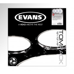 "TOMPACK G1 COATED ROCK (10"",12"",16"") 1 capa blanco rugoso EVANS"