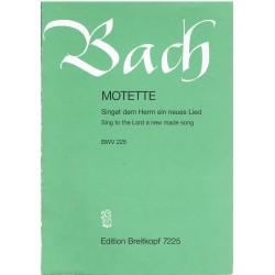 Bach, J.S. Motete BWV225 (Coro/Piano)