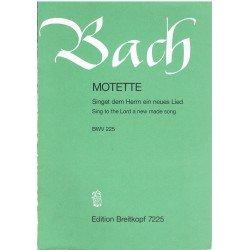 Bach, J.S. Motete BWV225...