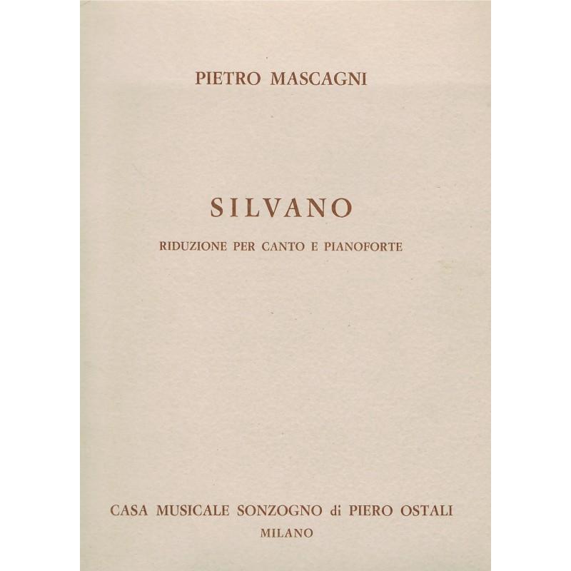 Mascagni, Pietro. Silvano (Voz/Piano)
