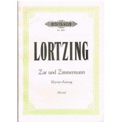 Lortzing. Zar und Zimmermann (Voz/Piano)