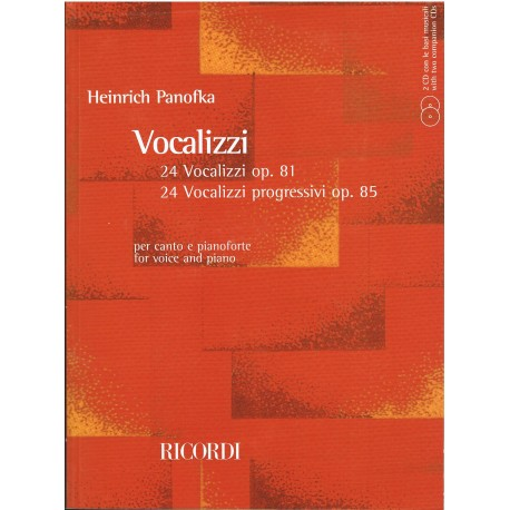 Panofka, Heinrich. Vocalizzi Op.81/85 (Voz/Piano)