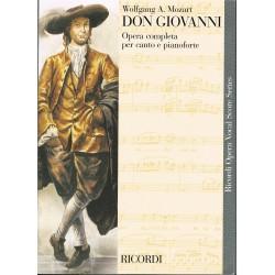 Mozart. Don Giovanni (Voz/Piano)