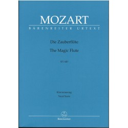 Mozart. La Flauta Mágica (Voz/Piano)