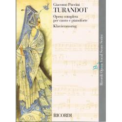 Puccini, Giacomo. Turandot (Voz/Piano)