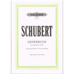 Schubert, Franz. Liederbuch (Voz Baja/Piano)