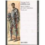 Verdi, Giuseppe. Otello (Voz/Piano)