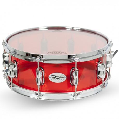 """SNARE DRUM METHACRYLATE 14X5.6""""(35X14CM) STF0825"""