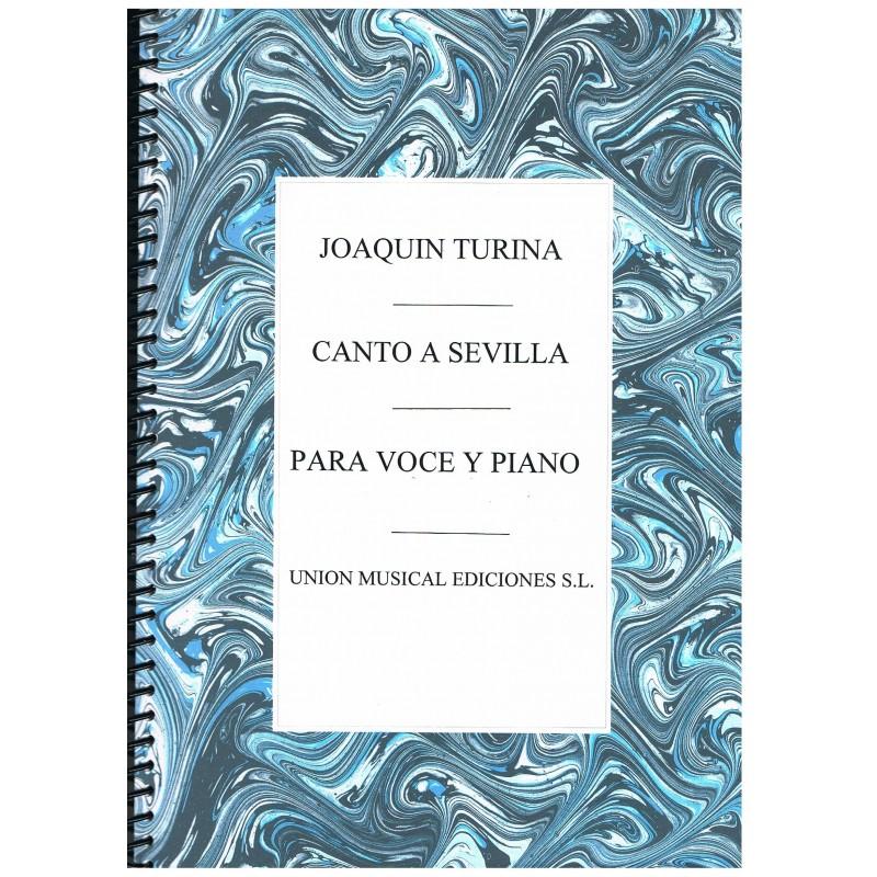 Turina, Joaquín. Canto a Sevilla (Voz/Piano)
