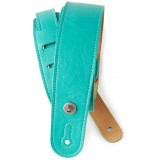garment leather strap teal