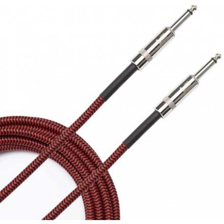 braided cable red 45m