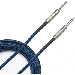 braided cable blue 6m