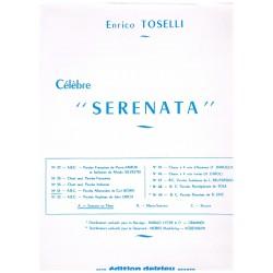 Toselli, Enrico. Célebre Serenata (Voz/Piano)